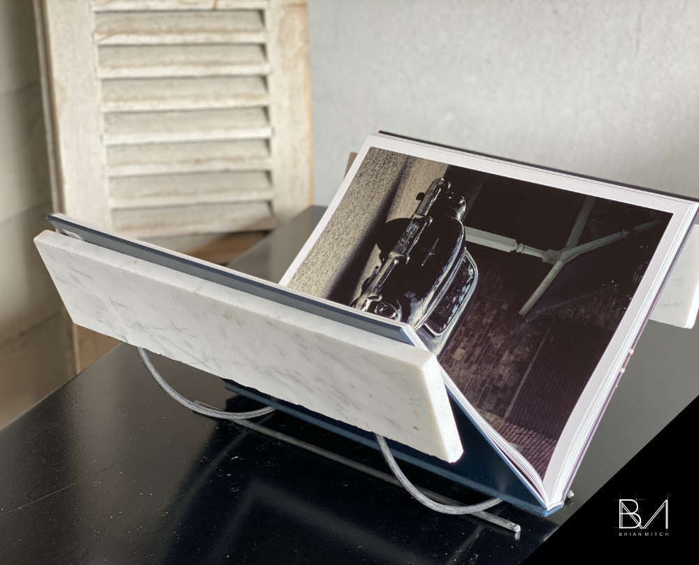 Marble Book Stand